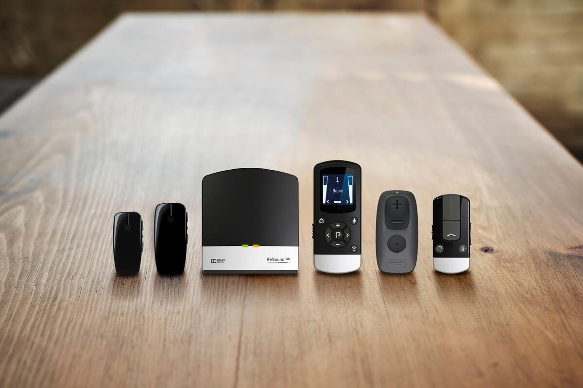 Akcesoria współpracujące z aparatami słuchowymi