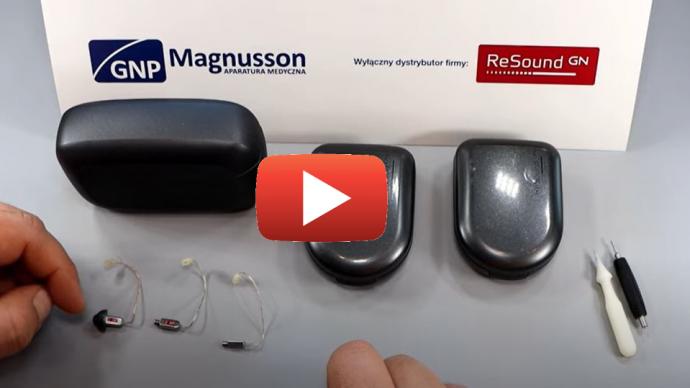 Montaż i demontaż słuchawki RIE w aparatach słuchowych